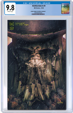RORSCHACH #1 JOHN GIANG EXCLUSIVE VARIANT CGC GRADED OPTIONS