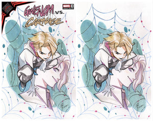 KING IN BLACK GWENOM VS CARNAGE #3 PEACH MOMOKO EXCLUSIVE OPTIONS