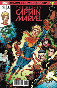 THE MIGHTY CAPTAIN MARVEL #1 TODD NAUCK VARIANT COVER A
