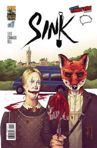 SINK #1 COVER A NEW YORK COMIC CON & BRAIN TRUST EXCLUSIVE