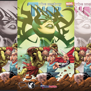 THE MIGHTY THOR #700 UNKNOWN COMIC BOOKS & THE BRAIN TRUST EXCLUSIVE SET