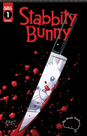 STABBITY BUNNY #1 BRAIN TRUST EXCLUSIVE