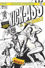 KICK-ASS #1 MIKE ROOTH EXCLUSIVE HULK181 HOMAGE