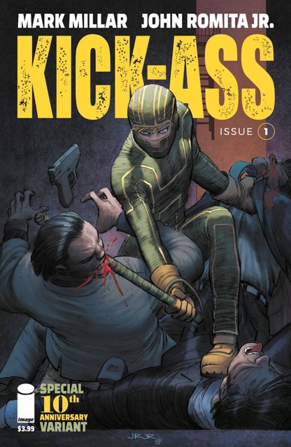 KICK-ASS #1 1:25 INCENTIVE VARIANT COVER 02/14/18 RD
