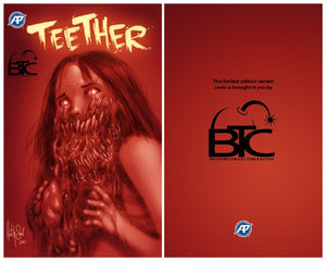 TEETHER #1 BTC BURNING VARIANT EXCLUSIVE COVERS