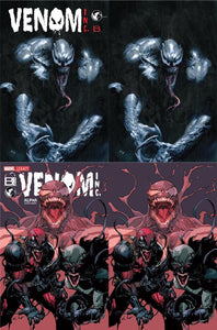 AMAZING SPIDER-MAN VENOM INC UNKNOWN COMIC BOOKS & BOOM EXCLUSIVE 4 PACK 1/17/2018