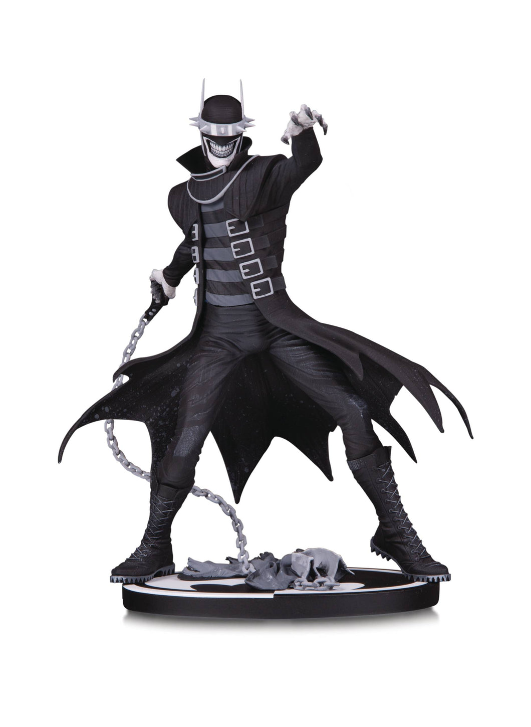 BATMAN BLACK & WHITE THE BATMAN WHO LAUGHS STATUE FOC 06/04 (ADVANCE ORDER)