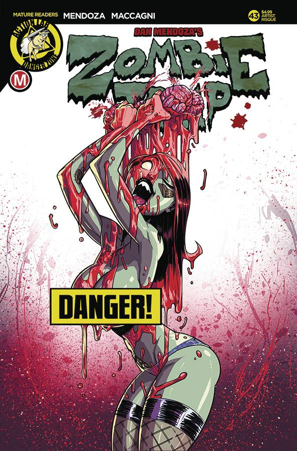 ZOMBIE TRAMP ONGOING #43 CVR D FEDERHENN RISQUE (MR) 02/07/18 RD