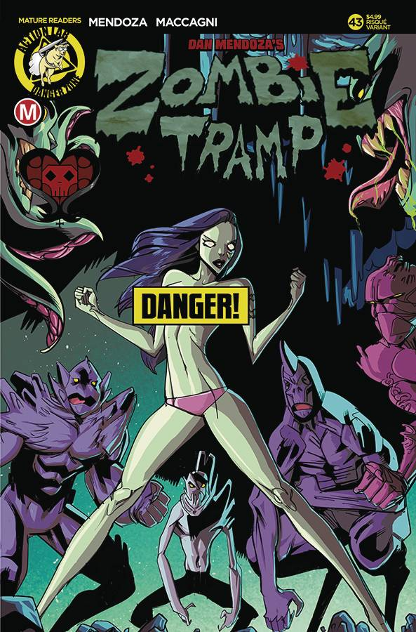 ZOMBIE TRAMP ONGOING #43 CVR B CELOR RISQUE (MR) 02/07/18 RD