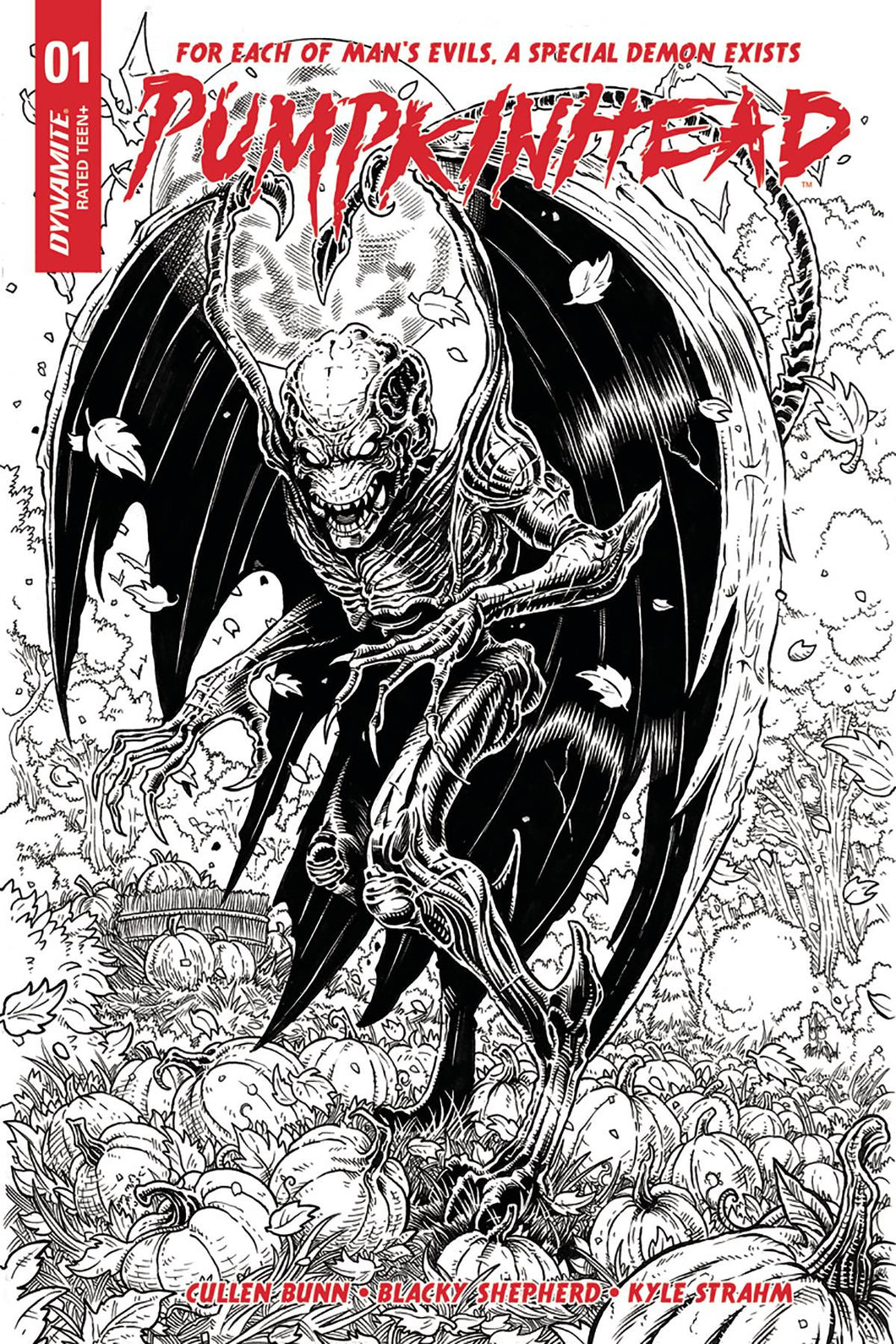 PUMPKINHEAD #1 (OF 5) CVR E 20 COPY HAESER 1:20 INCENTIVE VARIANT 02/21/18 RD