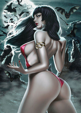 VAMPIRELLA #11 ARIEL DIAZ 5-STAR EXCLUSIVE VIRGIN VARIANT 500 PRINT RUN