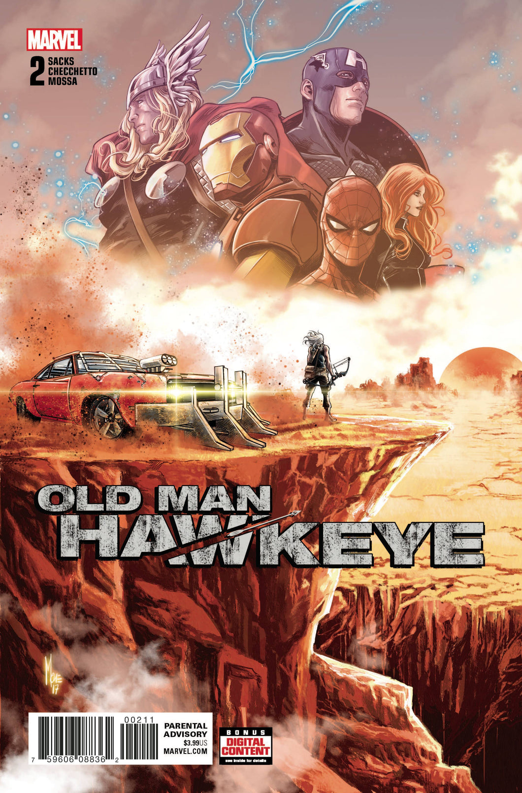 OLD MAN HAWKEYE #2 (OF 12) LEG 02/14/18 RD