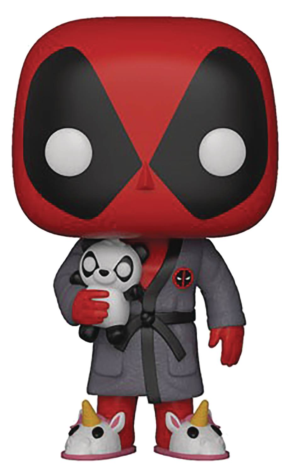 POP MARVEL DEADPOOL PARODY DEADPOOL IN ROBE VINYL FIGURE 06/27
