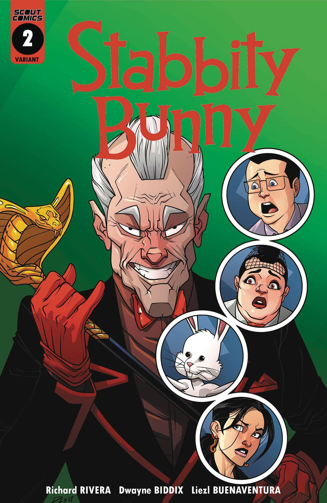 STABBITY BUNNY #2 1:7 INCENTIVE VARIANT 02/14/18 RD