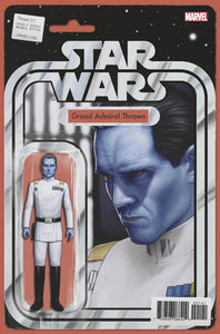 STAR WARS THRAWN #1 (OF 6) CHRISTOPHER ACTION FIGURE VAR 02/14/18 RD