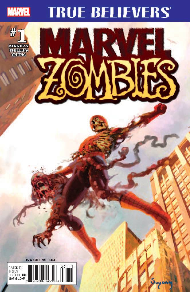 TRUE BELIEVERS MARVEL ZOMBIES #1 01/31/18 RD