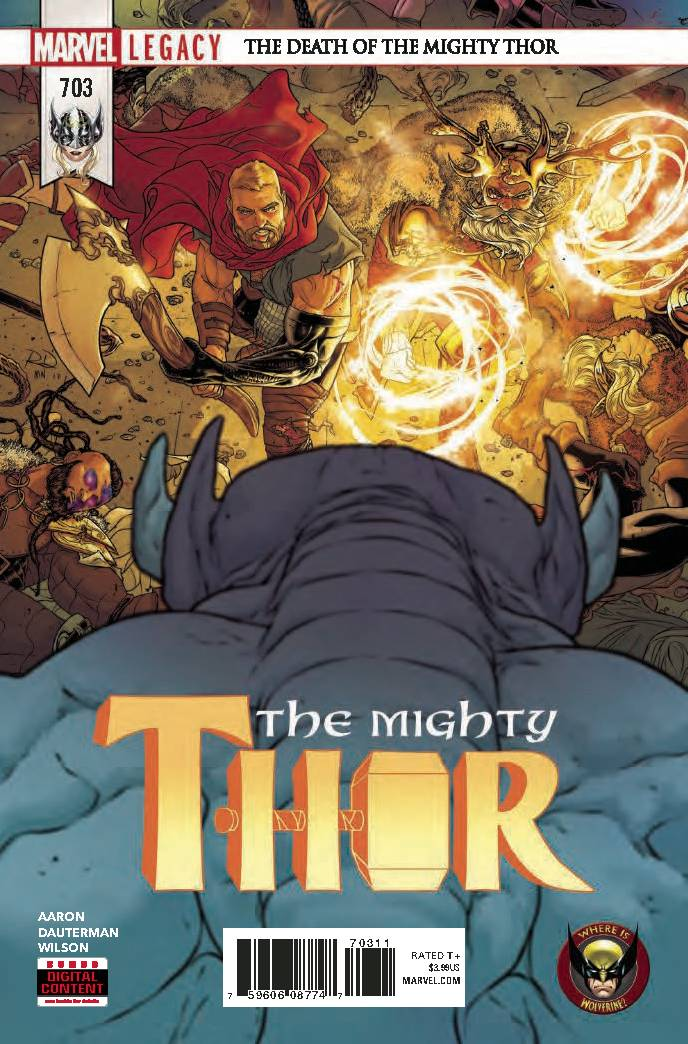 MIGHTY THOR #703 LEG WW