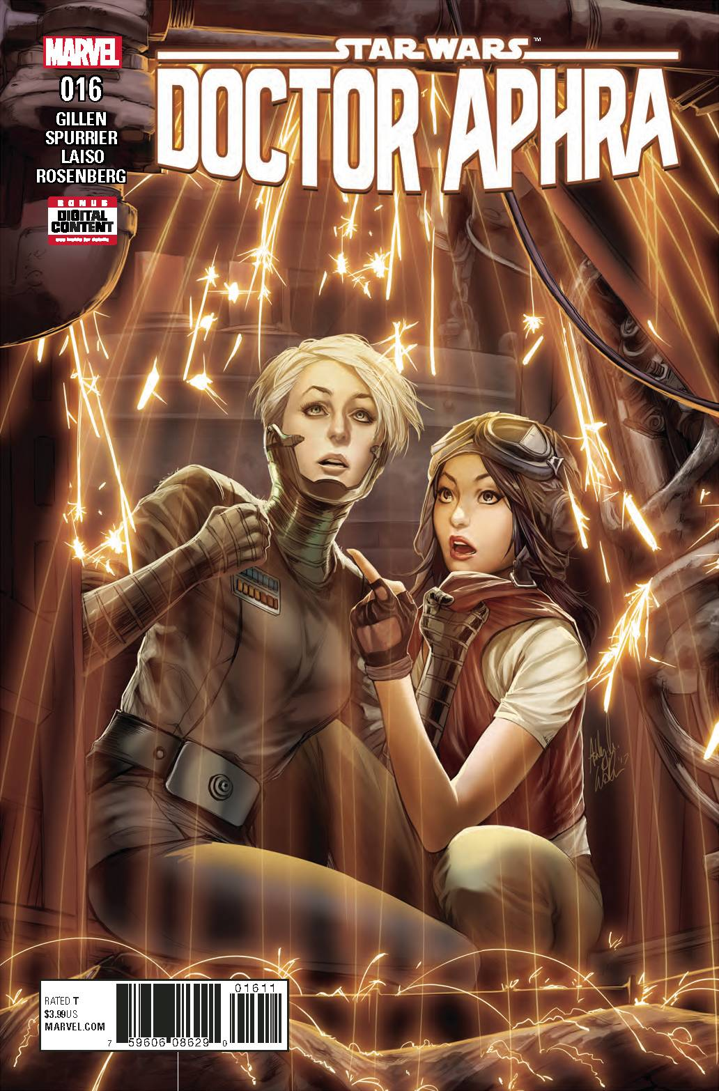 STAR WARS DOCTOR APHRA #16 01/31/18 RD