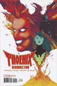 PHOENIX RESURRECTION RETURN JEAN GREY #2 (OF 5) MARTIN 1:25 VARIANT