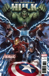 INCREDIBLE HULK #712 GRANOV AVENGERS VAR LEG 01/31/18 RD