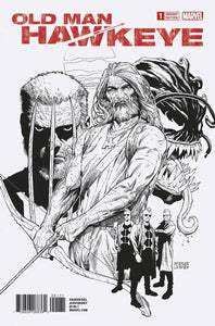 OLD MAN HAWKEYE #1 (OF 12) MCNIVEN SKETCH VAR LEG 1:100 INCENTIVE VARIANT
