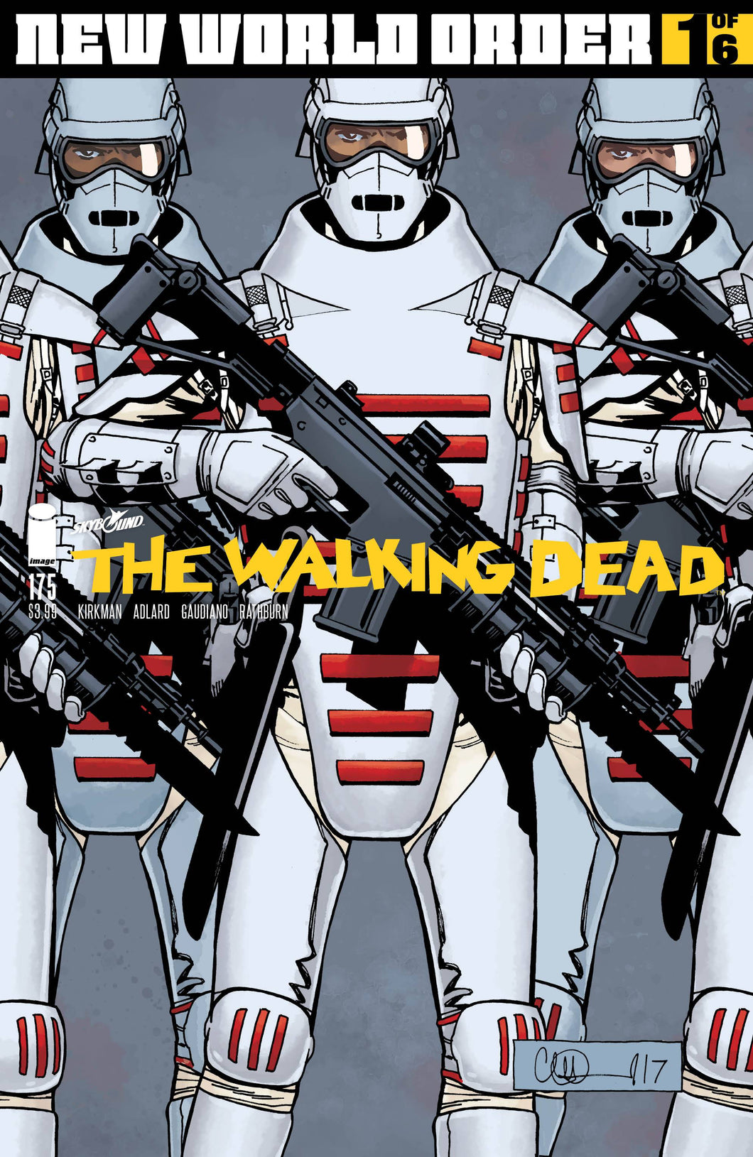 WALKING DEAD #175 CVR A ADLARD & STEWART (MR)