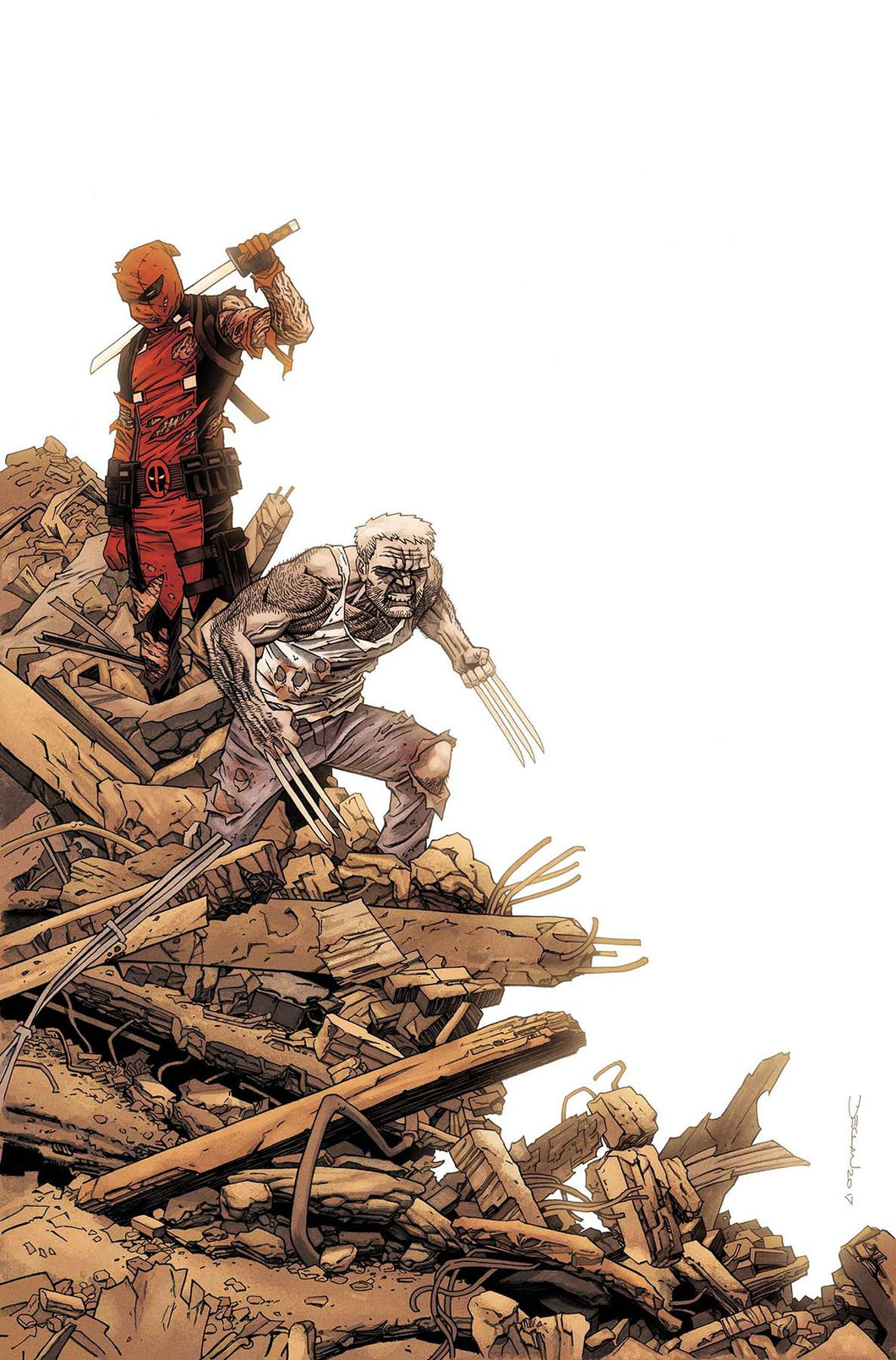 DEADPOOL VS OLD MAN LOGAN #5 (OF 5) 02/21/18 RD