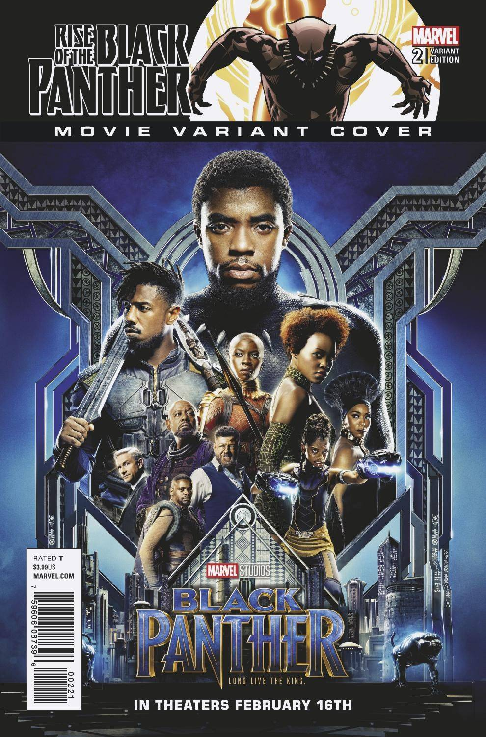 RISE OF BLACK PANTHER #2 (OF 6) MOVIE VAR LEG LEG 02/07/18