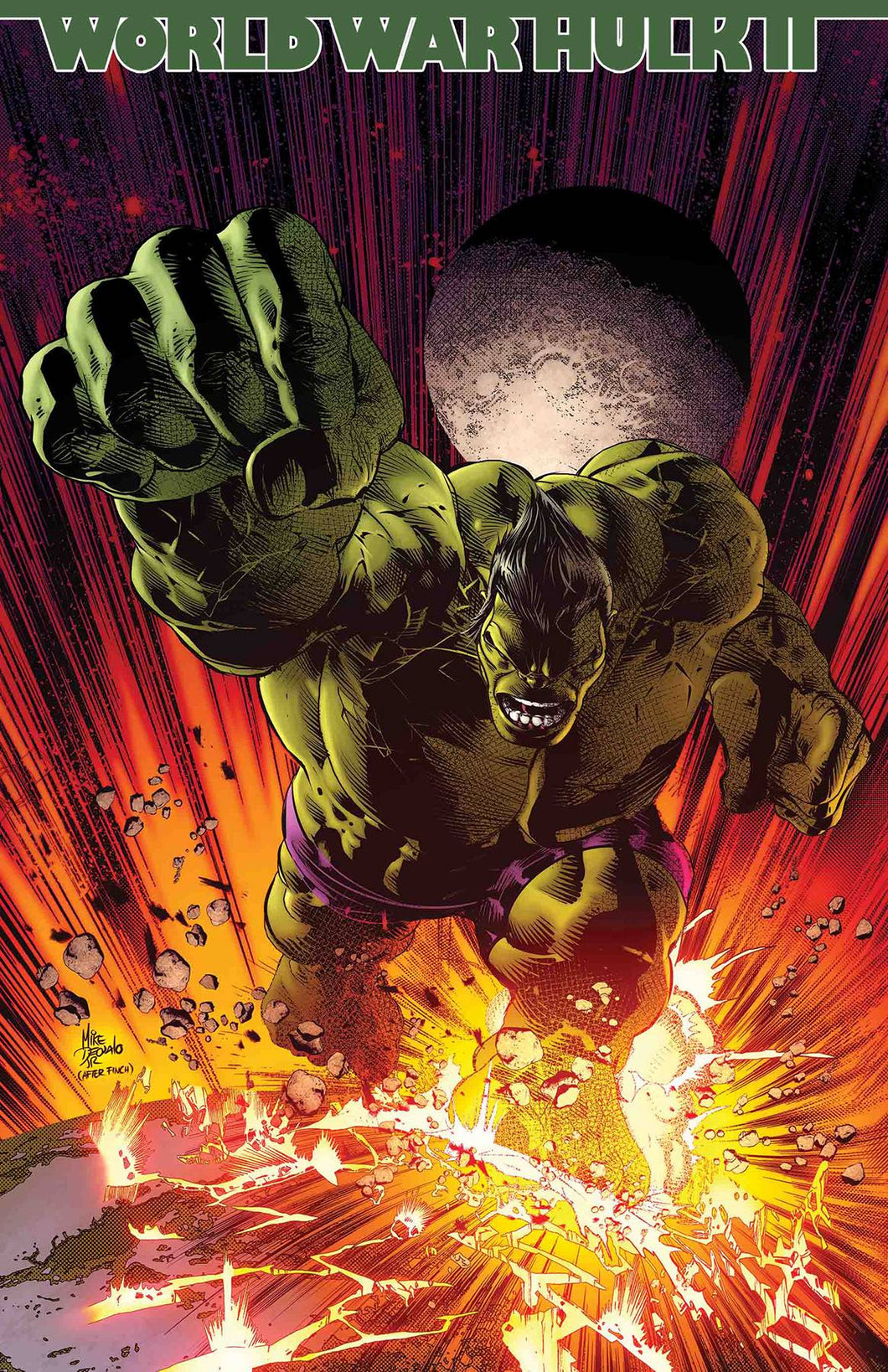 INCREDIBLE HULK #714 LEG WW (FOC 02/26/18)