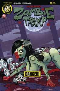 ZOMBIE TRAMP ONGOING #45 CVR D GARCIA RISQUE (MR) LTD TO 2500 COPIES 03/14/18 RD