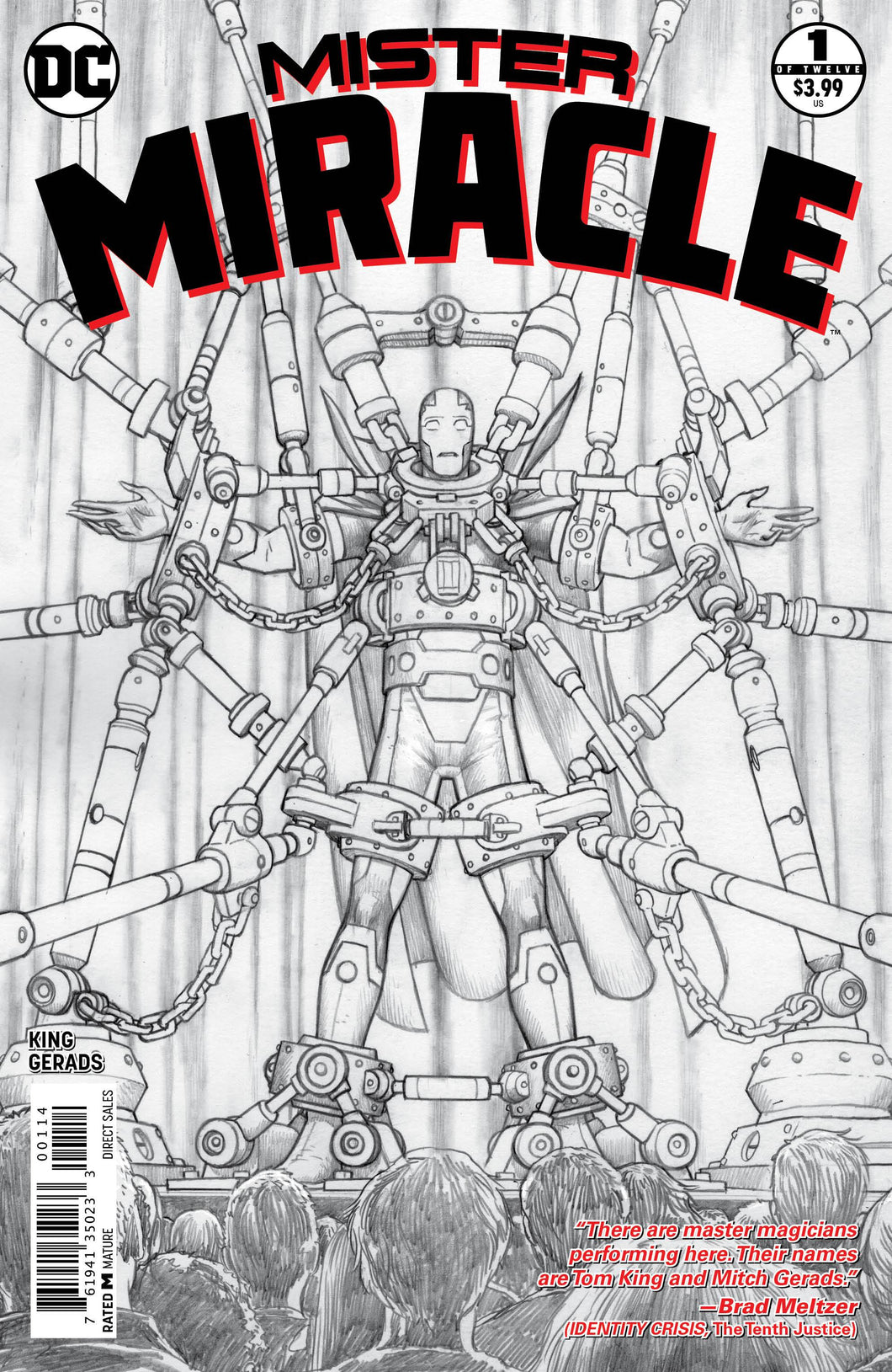MISTER MIRACLE #1 (OF 12) 4TH PTG (MR) 02/17/18 RD