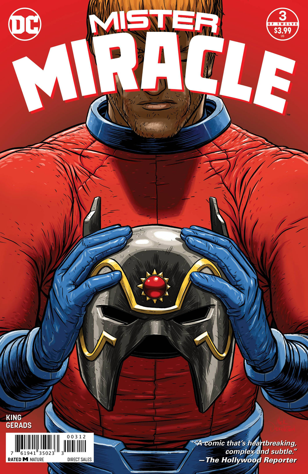 MISTER MIRACLE #3 (OF 12) 2ND PTG (MR) 02/17/18 RD