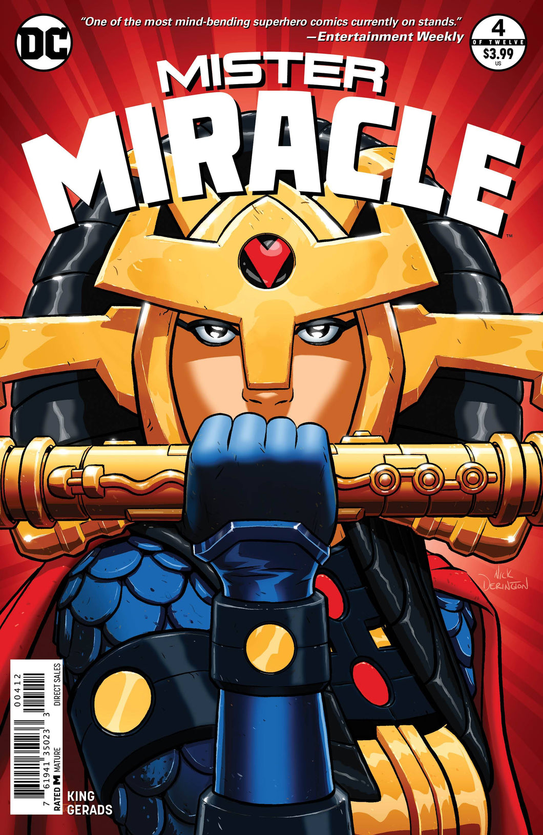 MISTER MIRACLE #4 (OF 12) 2ND PTG (MR) 02/17/18 RD