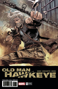 OLD MAN HAWKEYE #1 (OF 12) 2ND PTG CHECCHETTO VAR LEG 02/21/18 RD