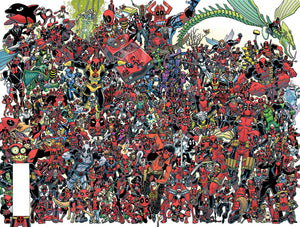 DESPICABLE DEADPOOL #300 KOBLISH 300 DEADPOOLS WRAPAROUND VARIANT RELEASE DATE 05/09