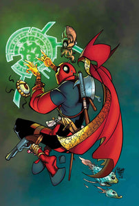 DOCTOR STRANGE #390 FERRY DEADPOOL VAR LEG FOC 04/30 (ADVANCE ORDER)