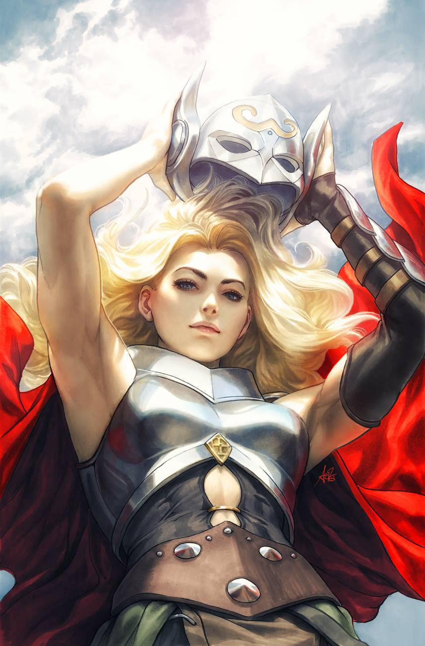 MIGHTY THOR #705 ARTGERM VIRGIN VAR LEG 1:100 INCENTIVE VARIANT (FOC 02/26/18)