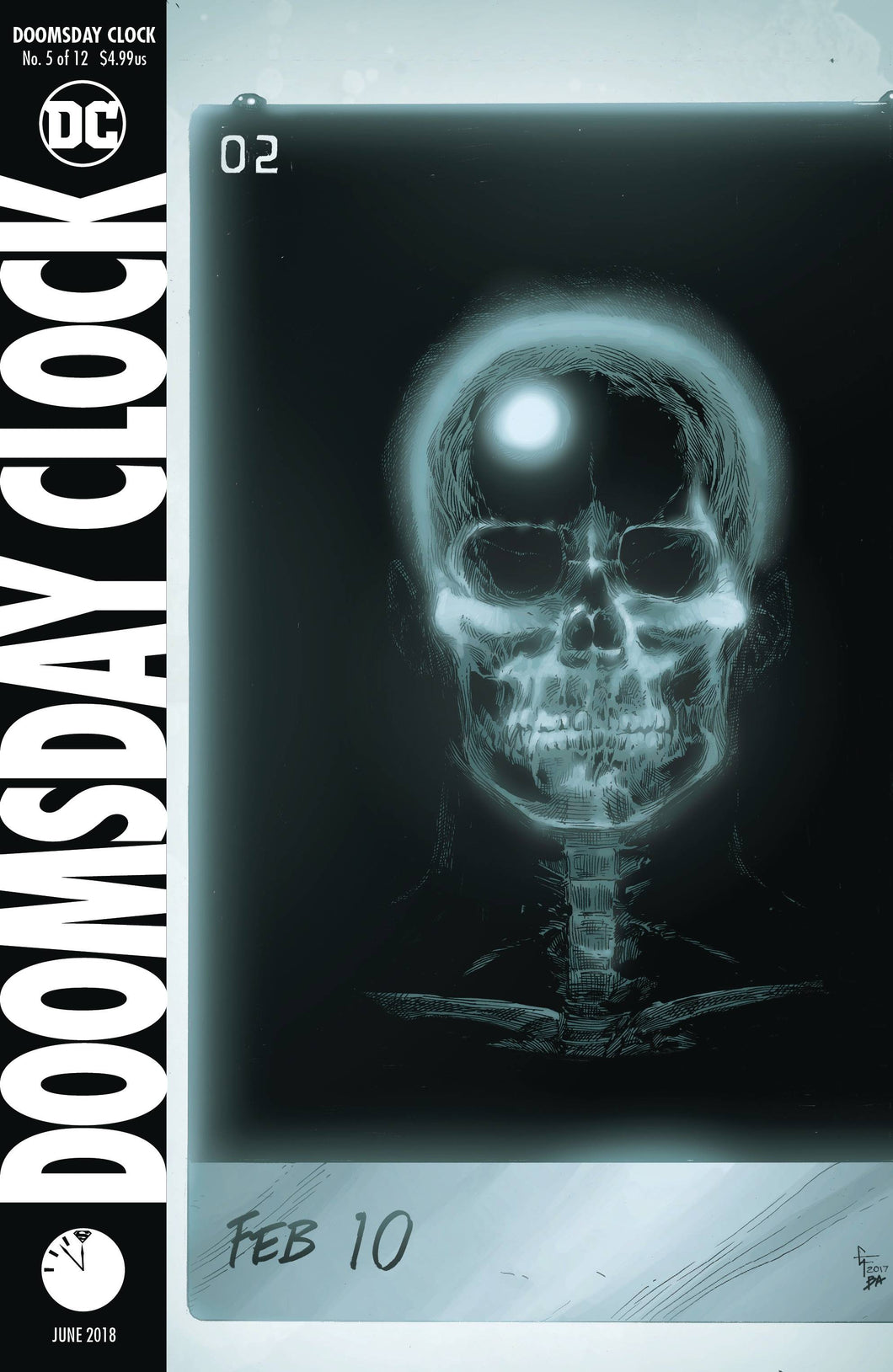 DOOMSDAY CLOCK #5 (OF 12) RELEASE DATE 05/30