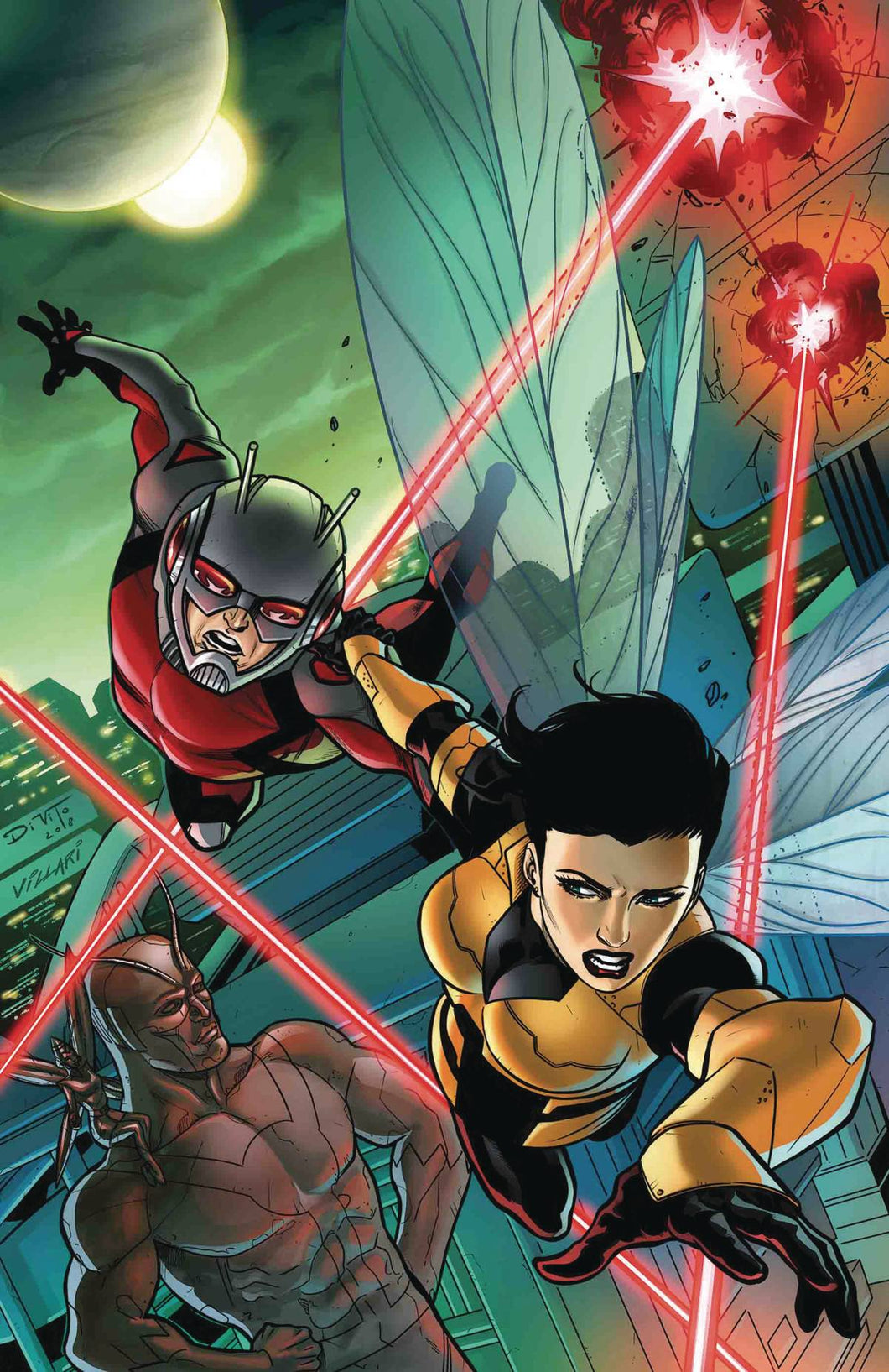ANT-MAN AND WASP LIVING LEGENDS #1 06/06