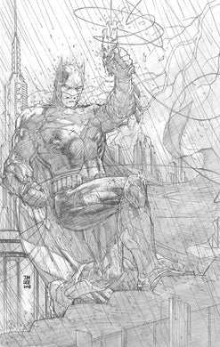 JUSTICE LEAGUE #1 JIM LEE PENCILS ONLY VIRGIN 1:500 VARIANT FOC 05/14 (ADVANCE ORDER)