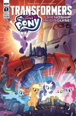 MY LITTLE PONY TRANSFORMERS #1 (OF 4) CVR A FLEECS 08/05/20