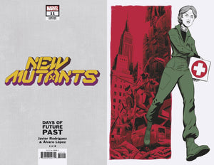 NEW MUTANTS #11 RODRIGUEZ DAYS OF FUTURE PAST VARIANT 07/22/20