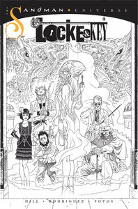 LOCKE & KEY SANDMAN HELL & GONE #1 RODRIQUE 1:10 COPY INCV B&W 04/14/21