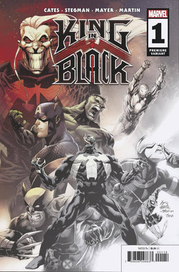 KING IN BLACK #1 (OF 5) STEGMAN 2 PER STORE PREMIERE VARIANT 12/02/20