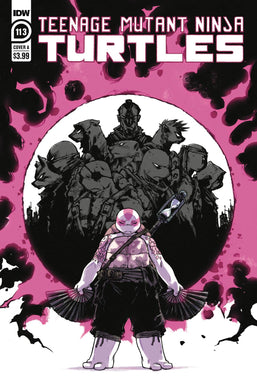 TMNT ONGOING #113 CVR A SOPHIE CAMPBELL 01/20/21