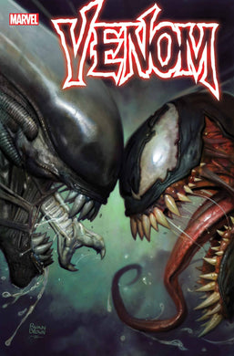 VENOM #32 BROWN MARVEL VS ALIEN VAR KIB 01/06/21