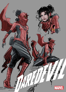 DAREDEVIL #25 2ND 1:25 RATIO DESIGN VARIANT 01/20/21