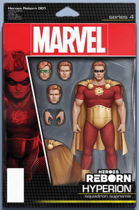 HEROES REBORN #1 (OF 7) CHRISTOPHER ACTION FIGURE VARIANT SEVERAL FIRST APPEARANCES 05/05/21