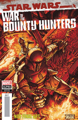 STAR WARS WAR BOUNTY HUNTERS ALPHA #1 MCNIVEN CRIMSON VARIANT 05/05/21