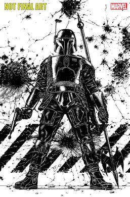 STAR WARS BOUNTY HUNTERS ALPHA DIRECTOR CUT #1 SKETCH 1:25 VARIANT 05/05/21